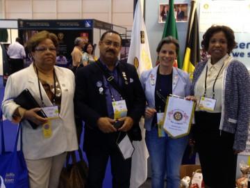 Rotary Clube do Lobito na Convencao Internacional de Lisboa com Rotary club do Brasil