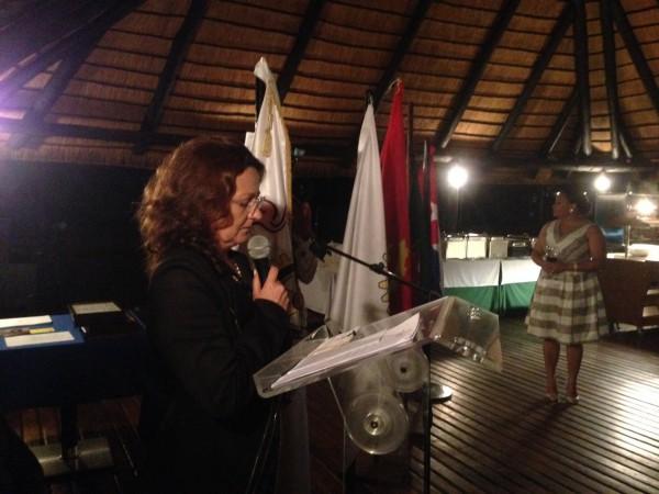Companheira Florinda Carneiro -Rotary Club de Luanda e madirnha do Rotary Clube do Lobito