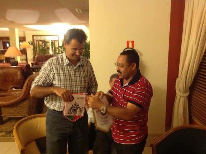 Recupração do companheiro Manuel Correia no Rotary club de Santarem