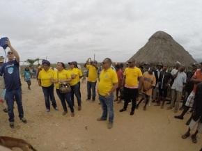Rotary Clube do Lobito na entrega de Filtros de Agua no Culango 08/11/2014