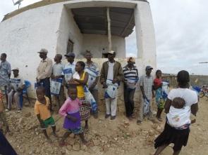 Familias que receberam os filtros de agua