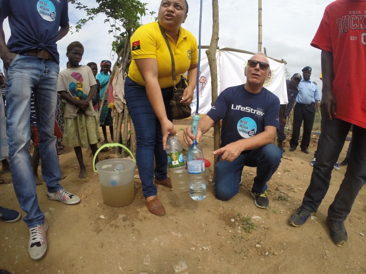 Doação de Filtro de Agua LifeStraw