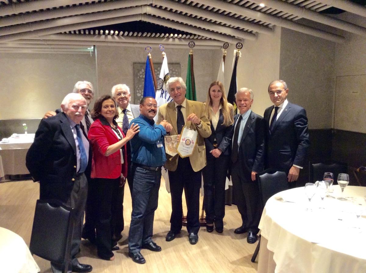 Companheiro Manuel Correia em recuperação no Rotary Clube Estrela de Lisboa
