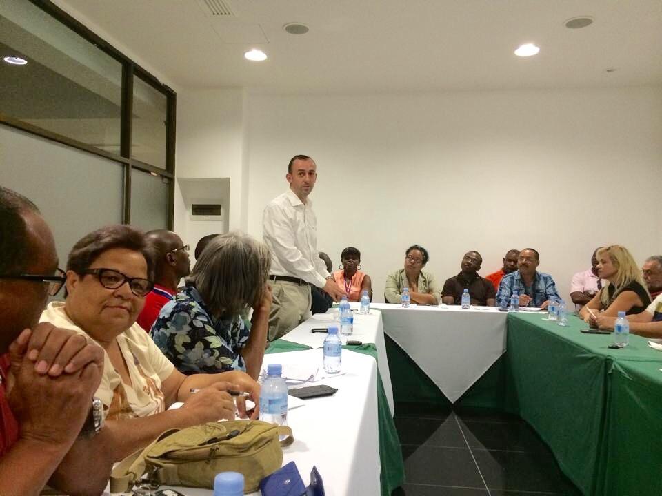 Vista ao nosso Clube do Past Presidente do Rotary Clube de Luanda Sul o companheiro Vasco Silva
